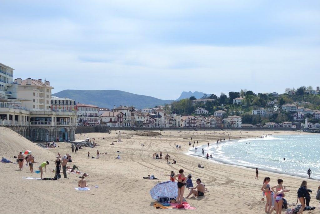 St-Jean-de-Luz beach