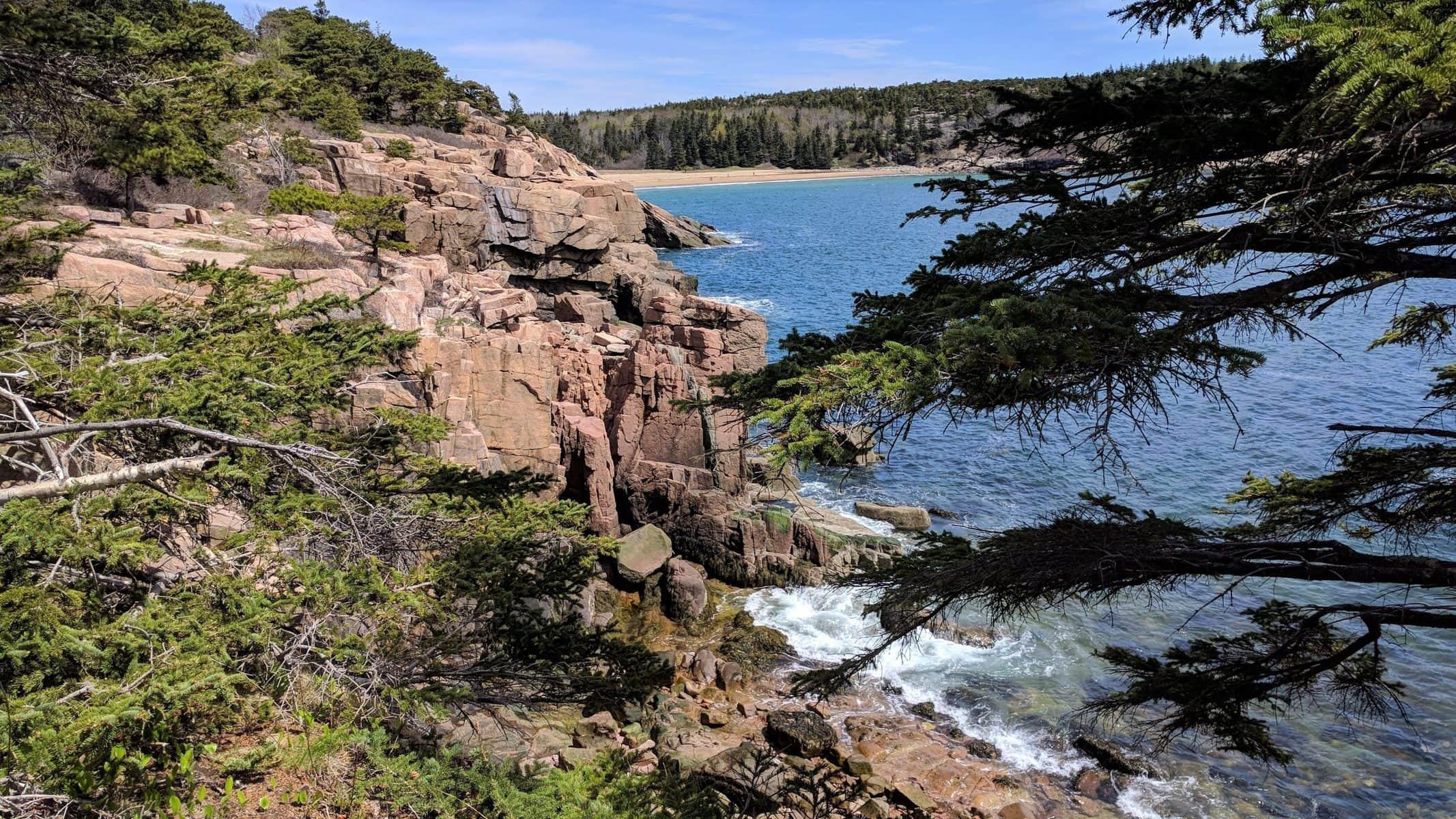 Acadia National Park Ocean Path