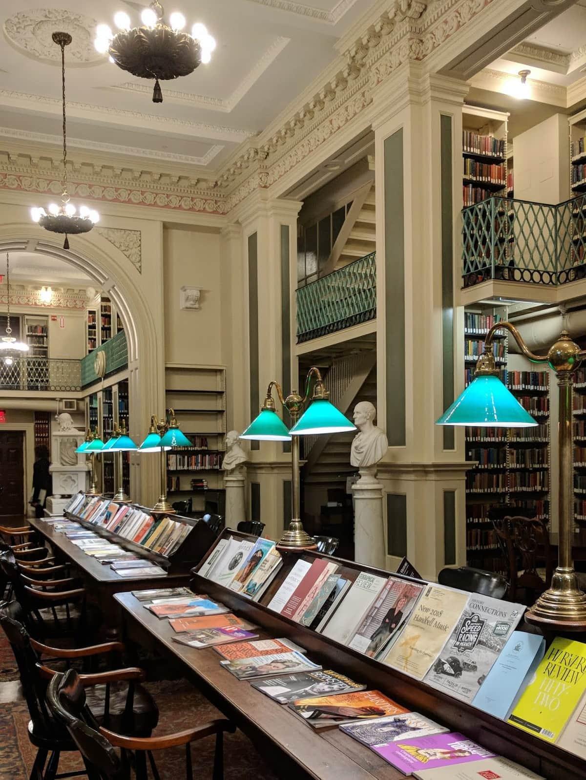 Hidden Boston Gem: The Boston Athenaeum | {imperfect idealist} #library #coollibraries #bookshelves