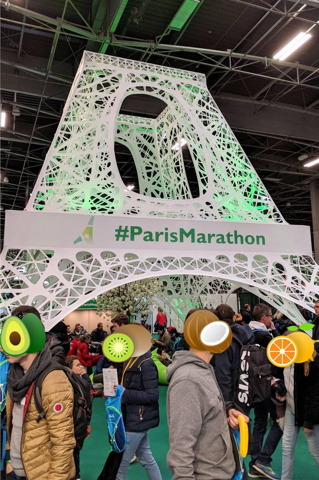 paris marathon expo 2019