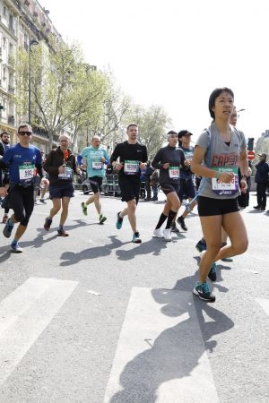 Running in the Paris Marathon 2019