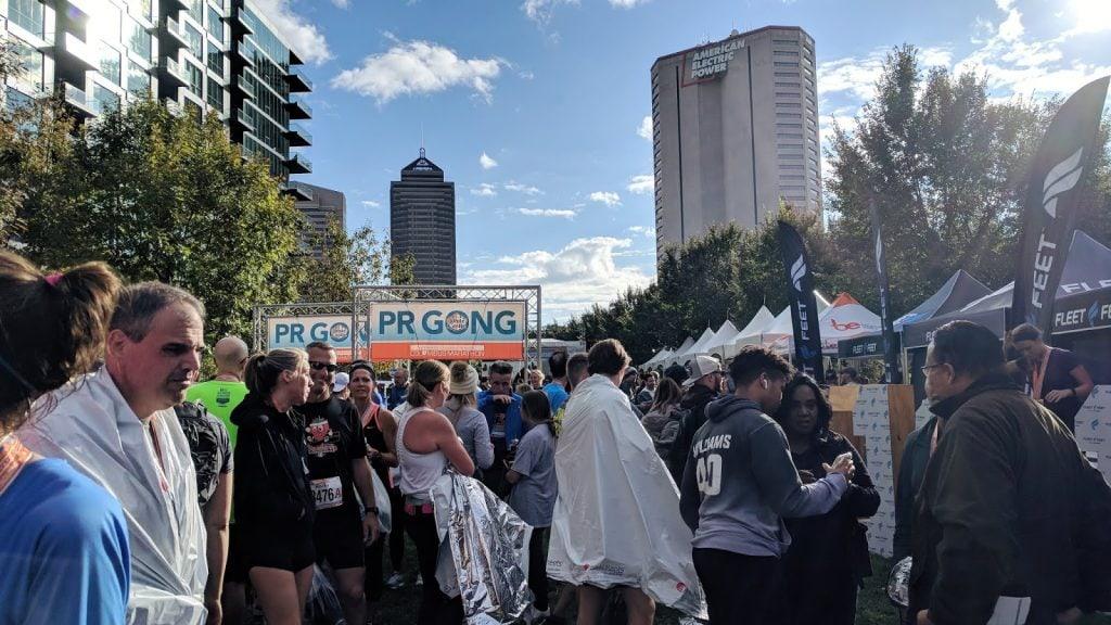 columbus marathon pr gong