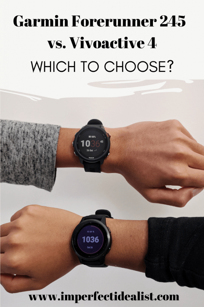 Review: Garmin Forerunner 245 vs. Vivoactive 4