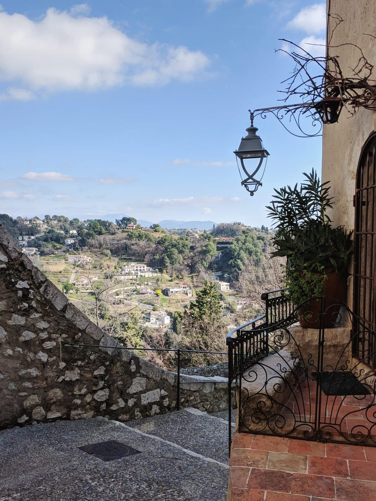 Hilltop view in Saint-Paul-de-Vence