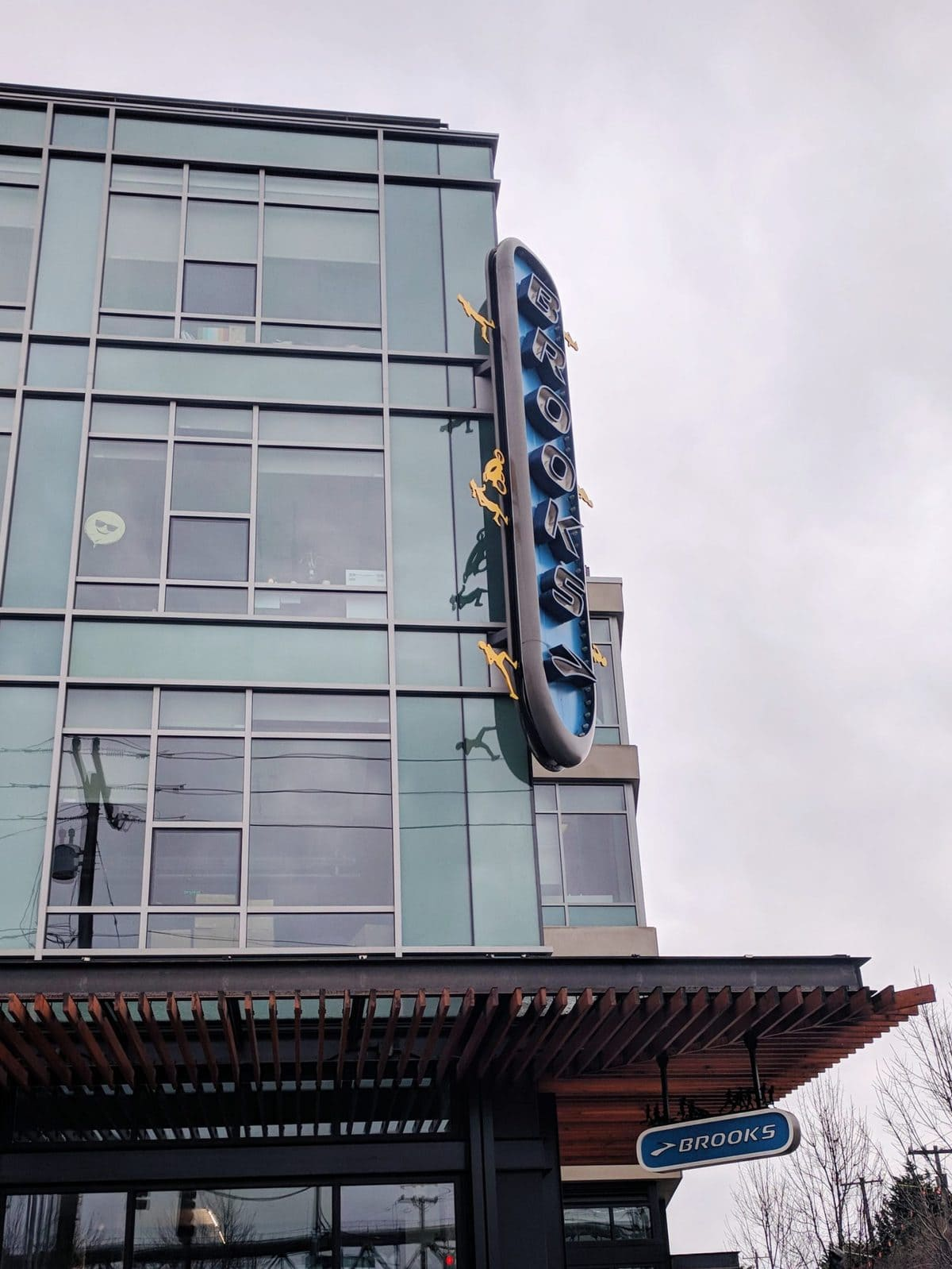 Brooks HQ and flagship store in Seattle, WA