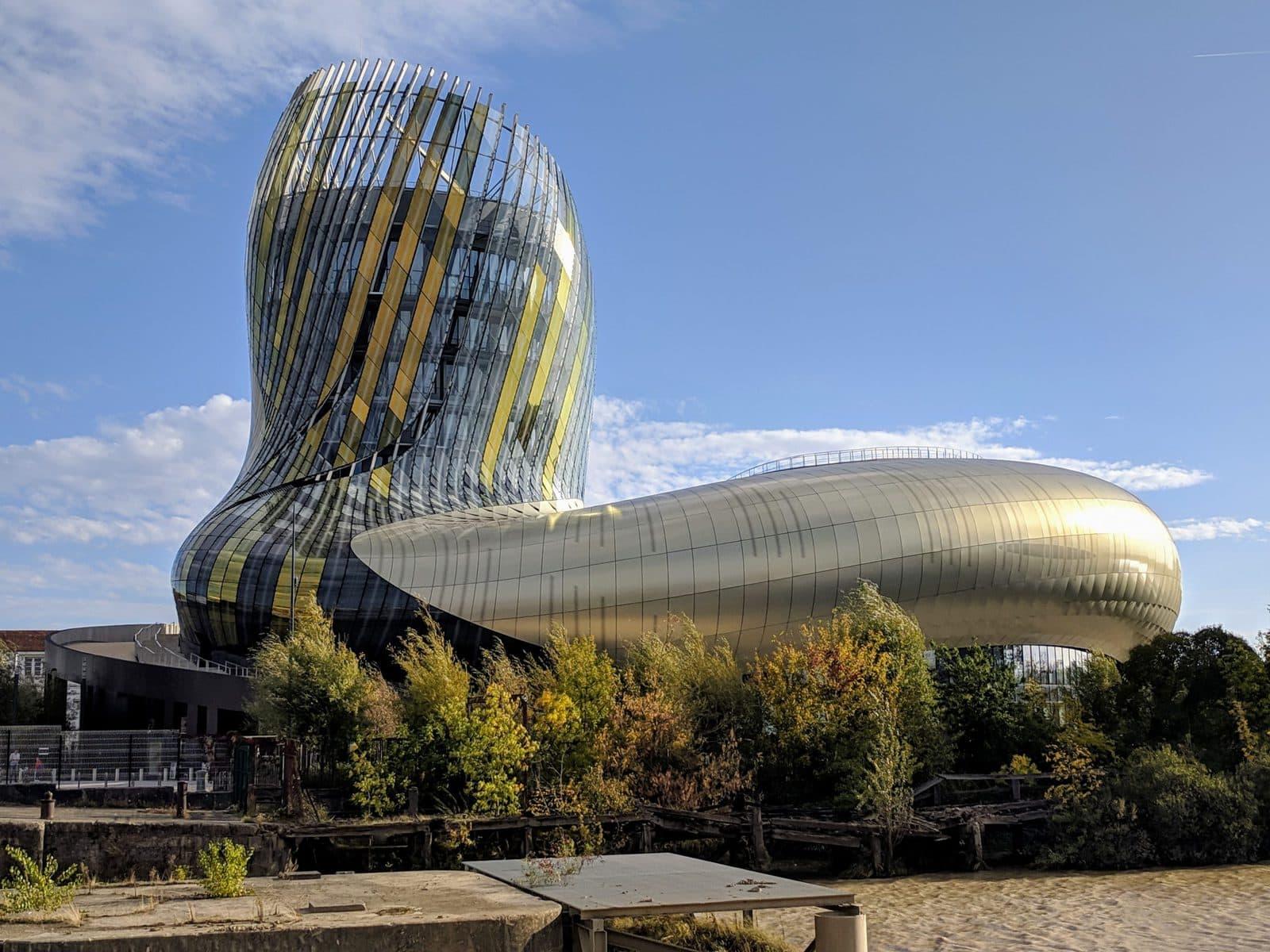 la Cité du vin building in Bordeaux