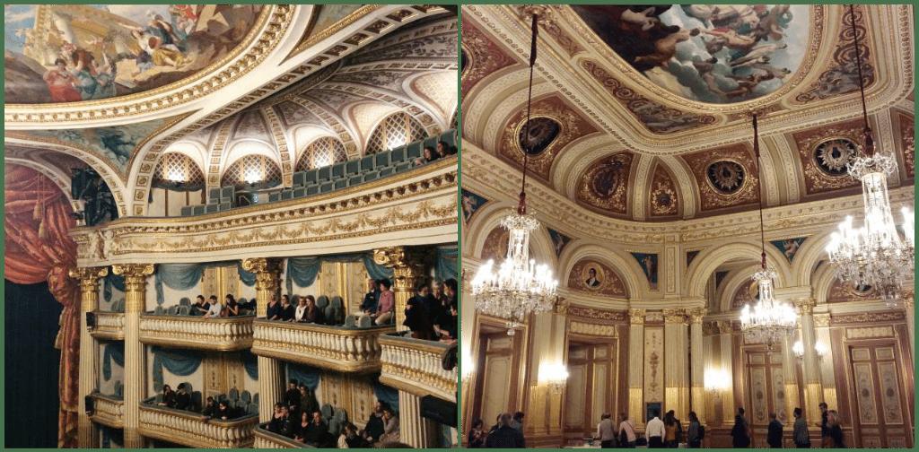 Inside the grand theatre de bordeaux