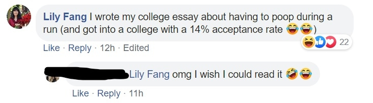 poop college essay