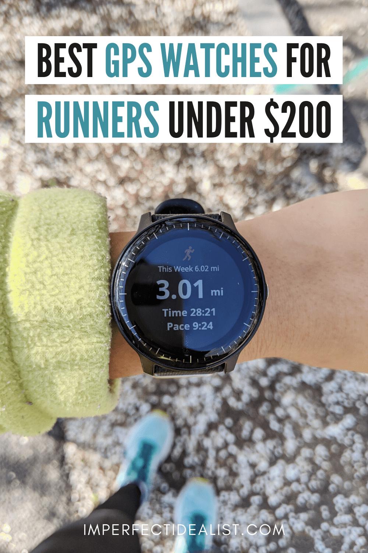 Best GPS running watches under $200