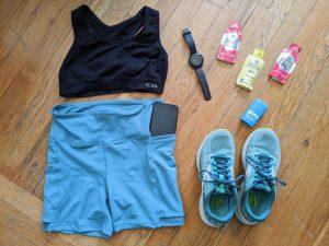 running gear flatlay