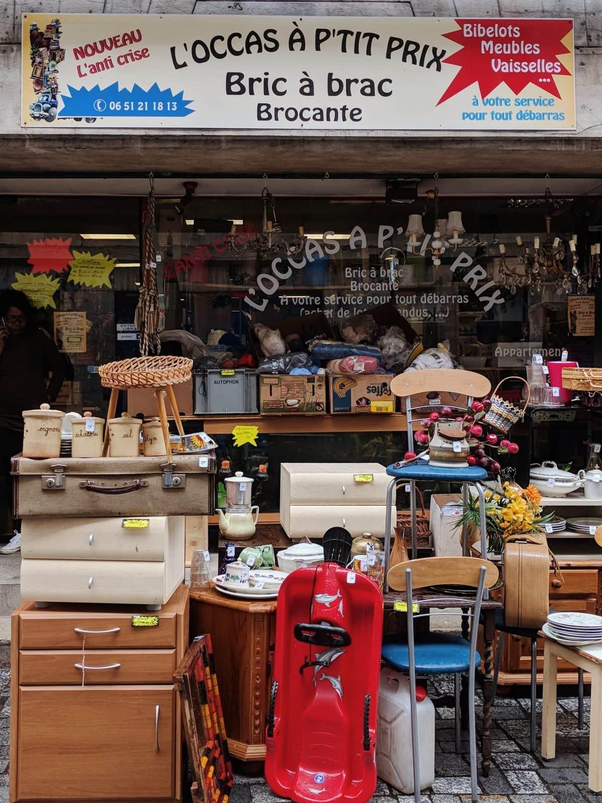 L'ocass a petit prix bric a brac - Besançon antique shop