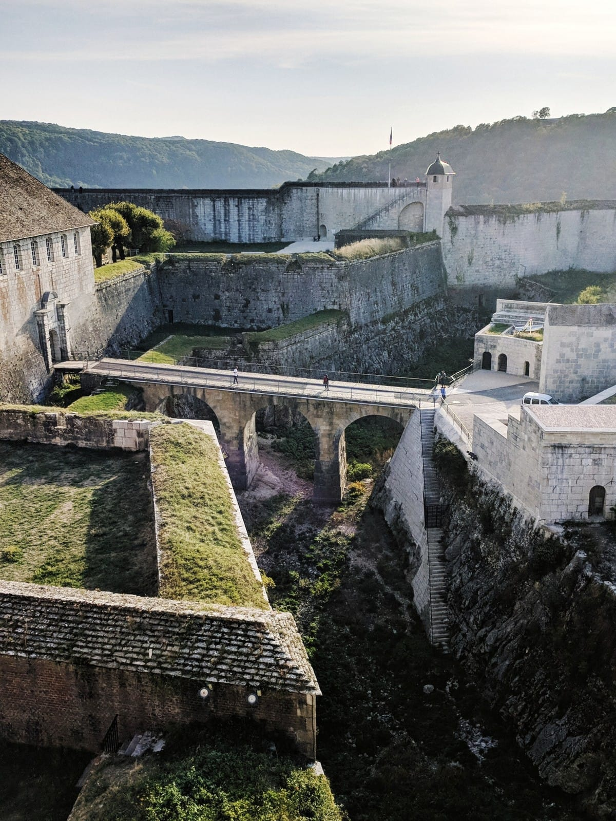 Citadelle de Besançon fort walls