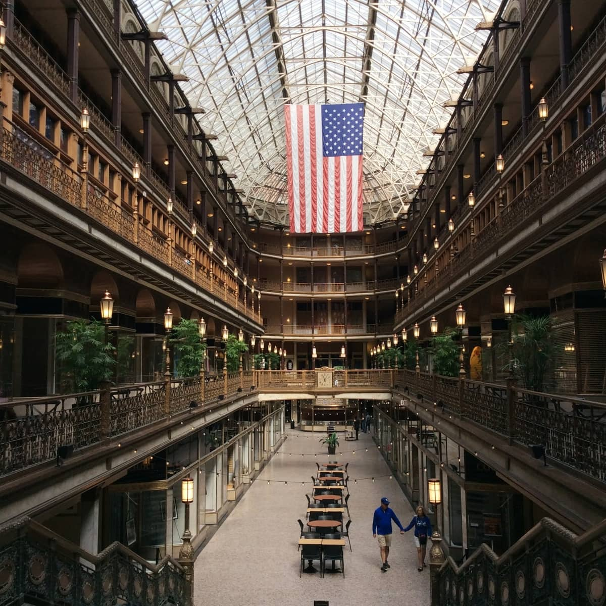 Cleveland Arcarde Victorian architecture