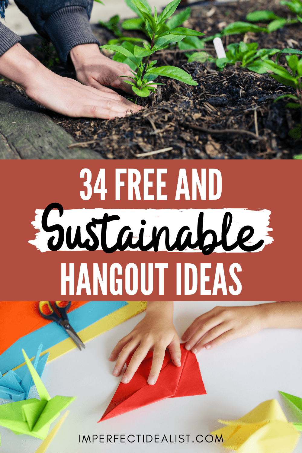 free and sustainable hangout ideas pin